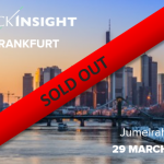 The TrackInsight Investor Summit Frankfurt 2017 is now sold out