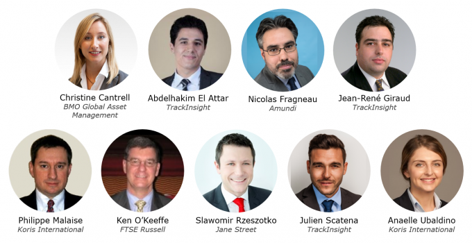 Speakers of the TrackInsight Investor Summit London 2017