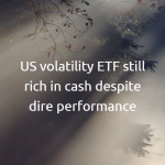 US volatility ETF still rich in cash despite dire performance